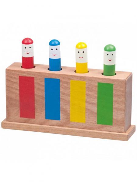 Jucarie din lemn Pop-Up 0