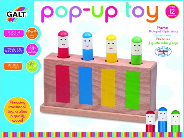 Jucarie din lemn Pop-Up 2