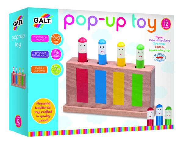 Jucarie din lemn Pop-Up 1