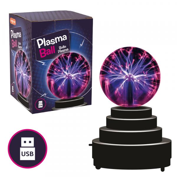 Jucarie interactiva - Glob cu plasma 0
