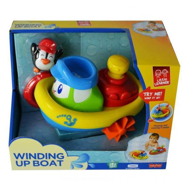 Jucarie pentru baie - Barcuta pinguinului 0