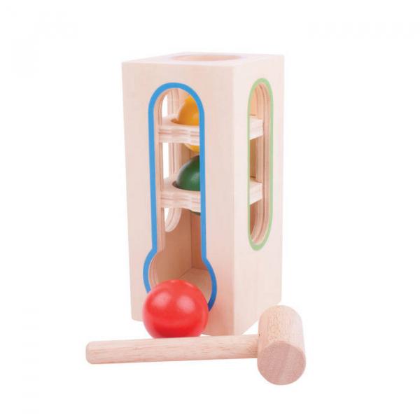 Jucarie pentru dexteritate- Turnuletul bilelor 1