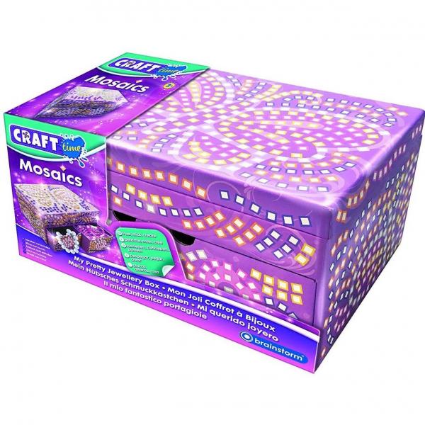 Kit Mozaic Cutie de Bijuterii Brainstorm Toys C7251 0