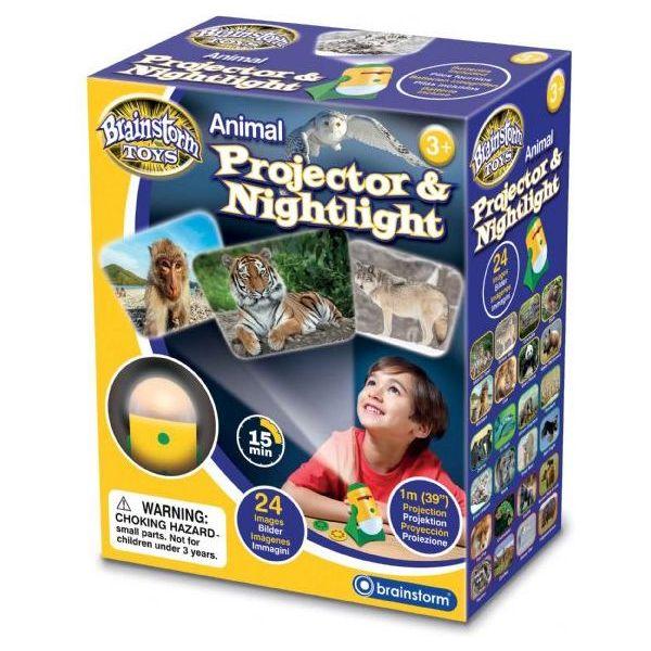 Lampa de Veghe si Proiector Animale Brainstorm Toys E2053 0