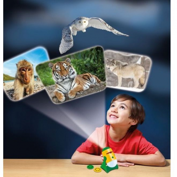 Lampa de Veghe si Proiector Animale Brainstorm Toys E2053 1