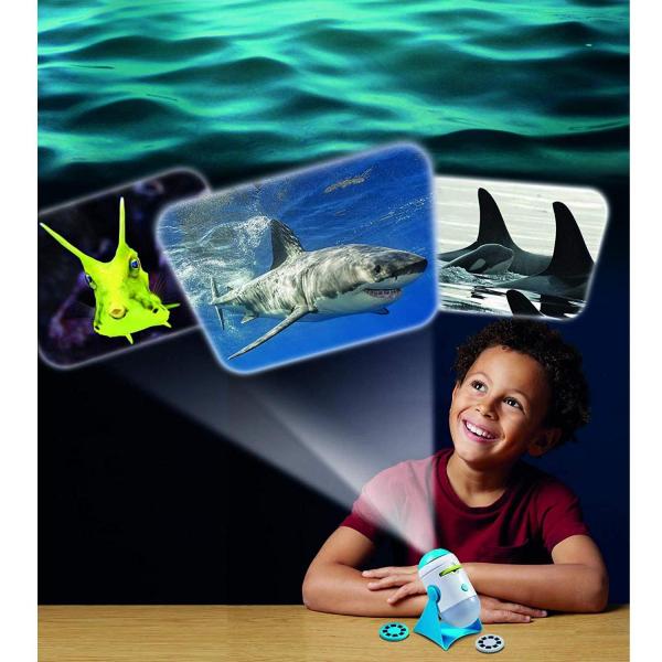 Lampa de Veghe si Proiector Animale Marine Brainstorm Toys E2059 2
