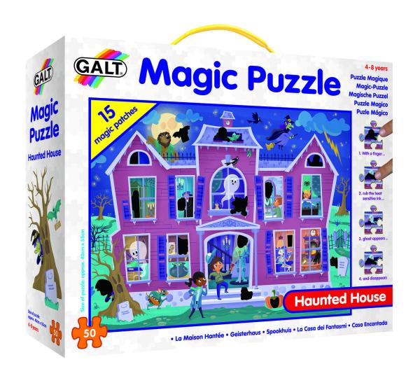 Magic Puzzle - Casa bantuita (50 piese) 0
