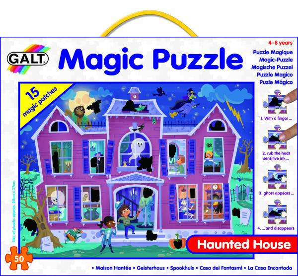 Magic Puzzle - Casa bantuita (50 piese) 1