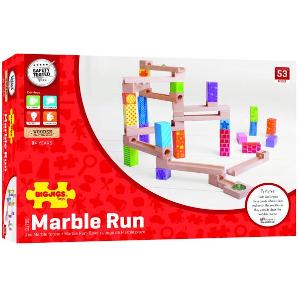 Marble Run din lemn 3