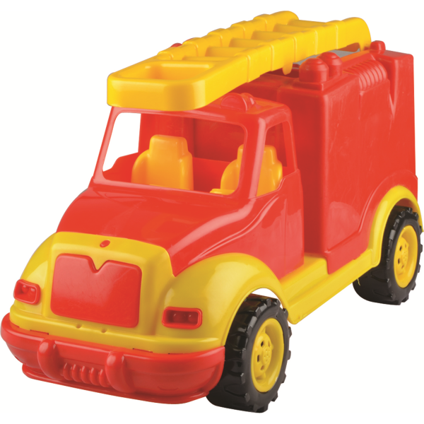 Masina pompieri 43 cm, in cutie Ucar Toys UC108 0