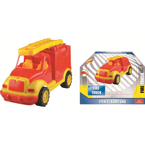 Masina pompieri 43 cm, in cutie Ucar Toys UC108 1