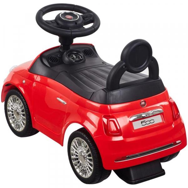 Masinuta fara pedale Fiat 500 - Sun Baby - Rosu 2
