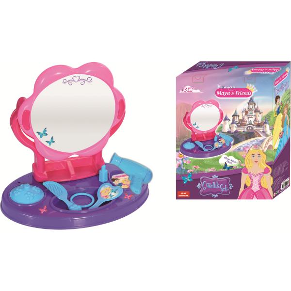 Masuta pentru coafat Princess Maya and Friends Ucar Toys UC129 1