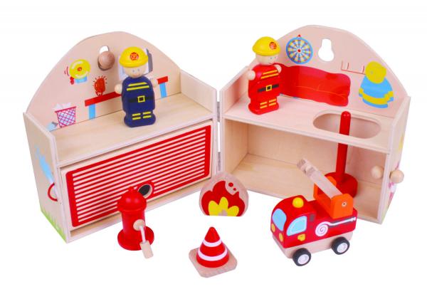 Mini Statie de pompieri 0