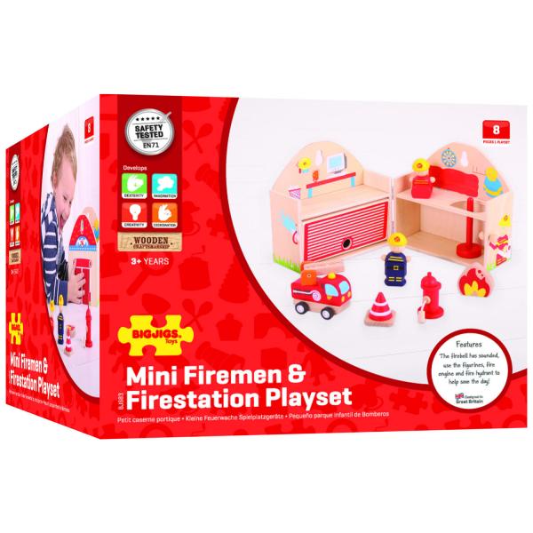 Mini Statie de pompieri 3