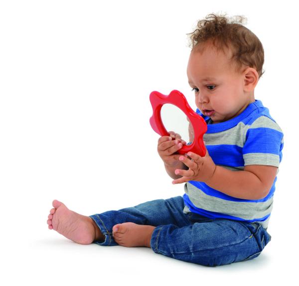 Oglinda floricica pentru bebelusi 2