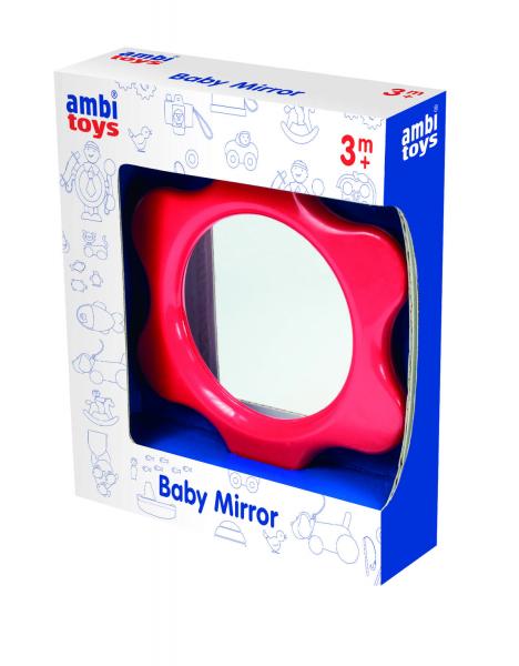 Oglinda floricica pentru bebelusi 0