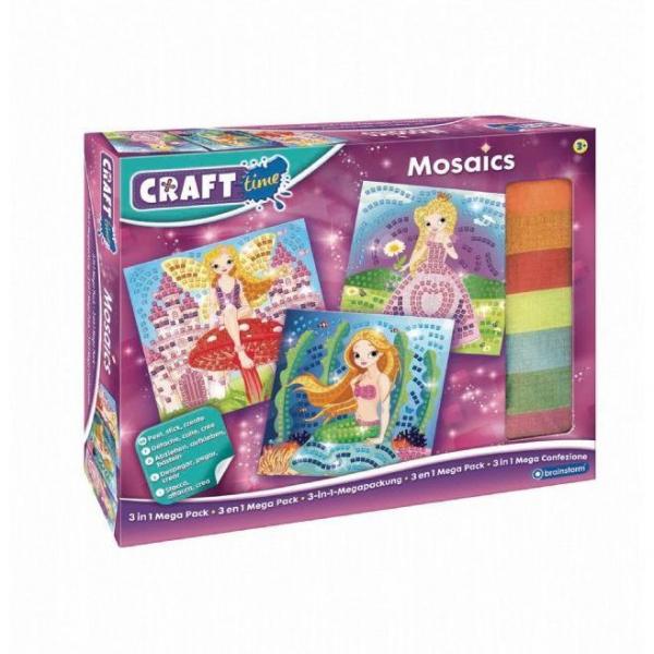 Pachet Kit Mozaic  3 in 1 Brainstorm Toys C7200 4