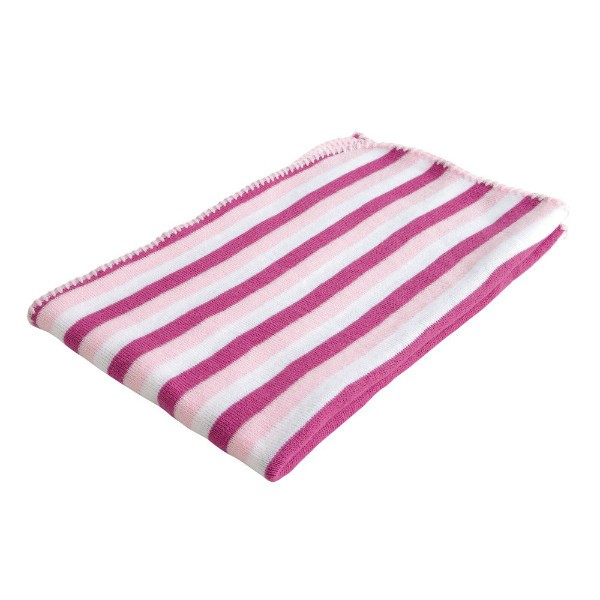 Paturica Baroo Stripe Roz/Alb 0