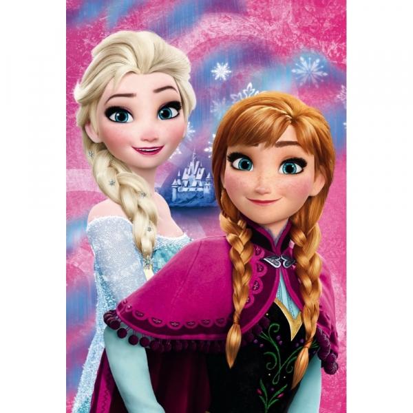 Paturica copii Frozen Anna and Elsa Star ST55884 0