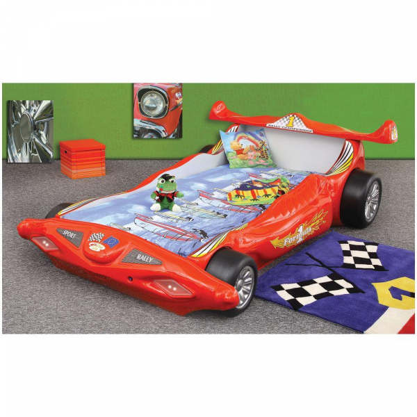 Patut copii Formula 1 - Plastiko - Rosu 0