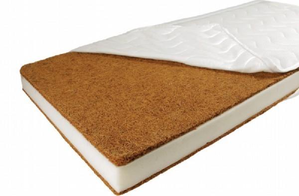Patut din lemn masiv si laterala culisabila Olek + Saltea Cocos Comfort 5
