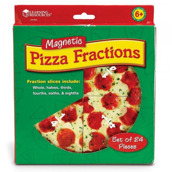 Pizza fractiilor cu magneti 2