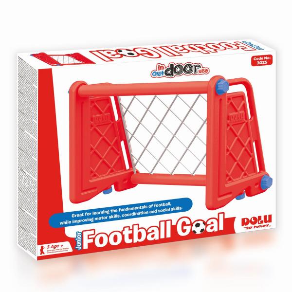 Poarta fotbal pentru copii - Rosie 1