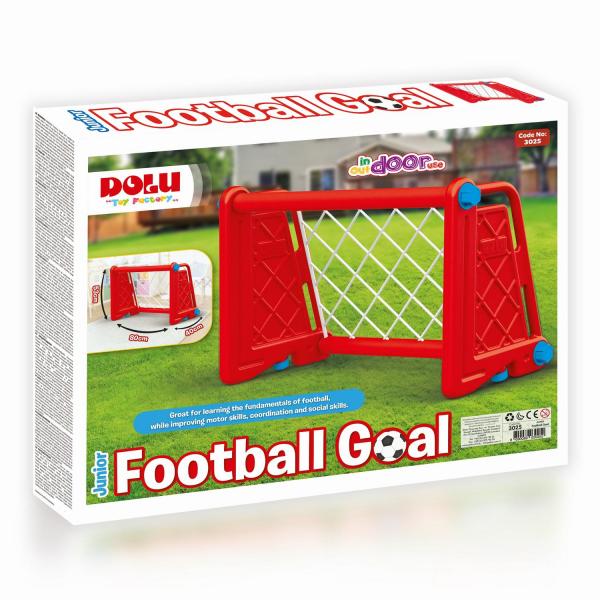 Poarta fotbal pentru copii - Rosie 2