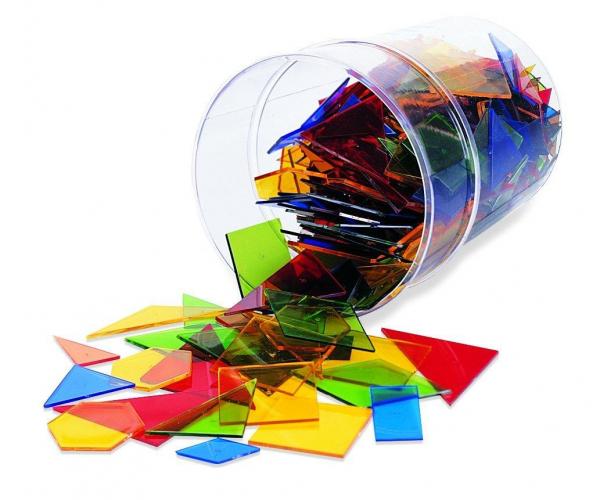 Poligoane colorate - set 450 buc 0