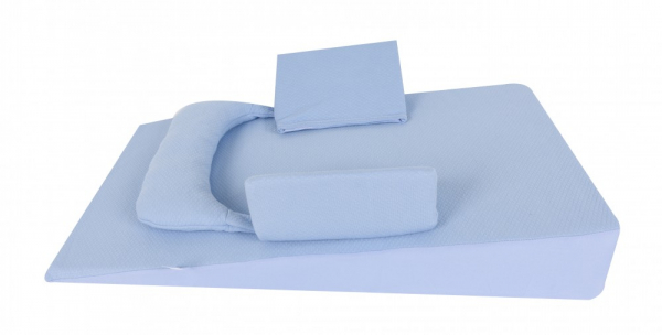Pozitionator inclinat antiregurgitare albastru SeviBaby [0]