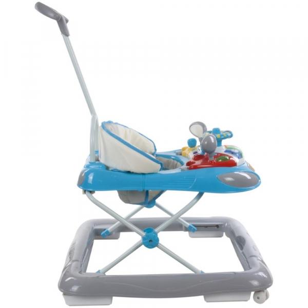 Premergator cu control parental Super Car - Sun Baby - Albastru cu Gri [2]