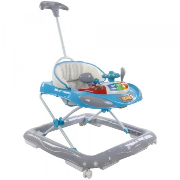 Premergator cu control parental Super Car - Sun Baby - Albastru cu Gri [0]