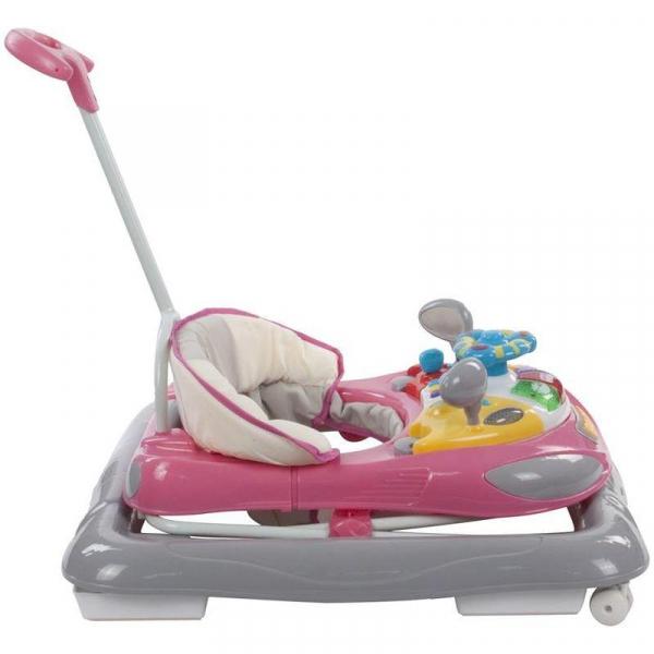 Premergator cu control parental Super Car - Sun Baby - Roz cu Gri [1]