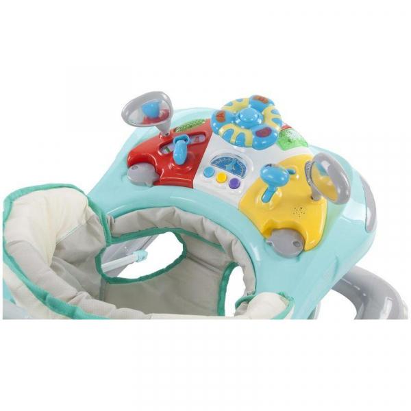 Premergator cu control parental Super Car - Sun Baby - Turcoaz cu Gri 3