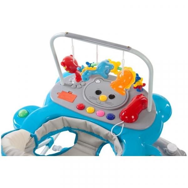 Premergator Pisicuta cu sistem de balansare - Sun Baby - Albastru cu Gri 4