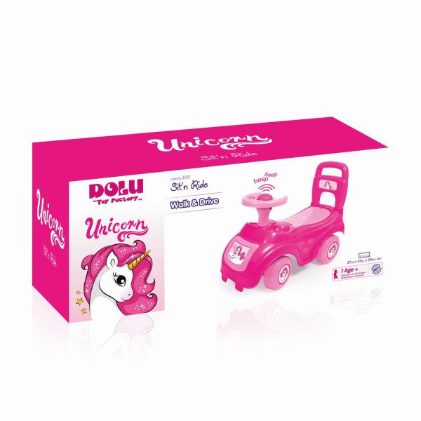 Prima mea masinuta roz - Unicorn 3