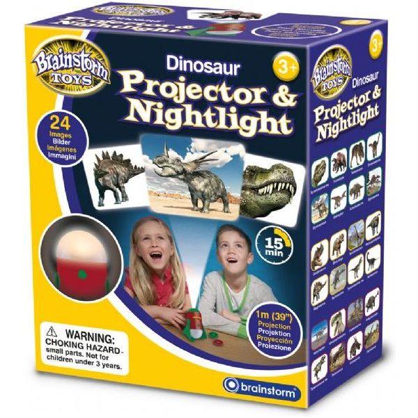 Proiector cu Dinozauri si Lampa de Veghe Brainstorm Toys E2046 0