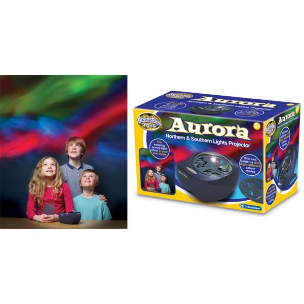 Proiector lumini Aurora boreala si australa Brainstorm Toys E2024 1