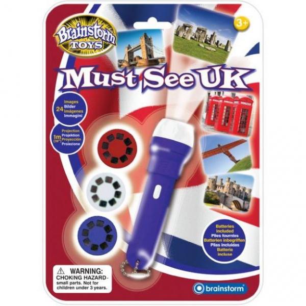 Proiector obiective turistice Marea Britanie Brainstorm Toys E2044 0
