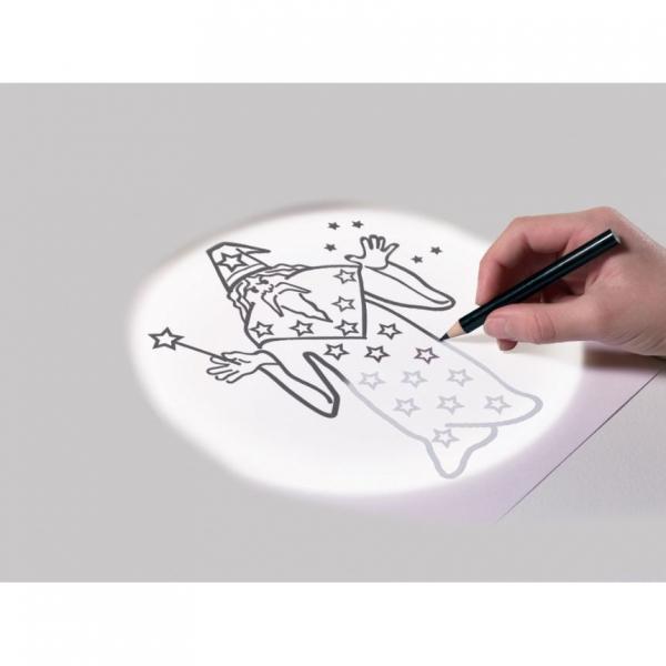 Proiector pentru desen cu pix fosforescent inclus The Original Glowstars Company B8504 [2]