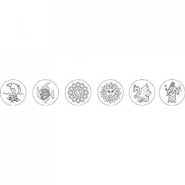 Proiector pentru desen cu pix fosforescent inclus The Original Glowstars Company B8504 [6]