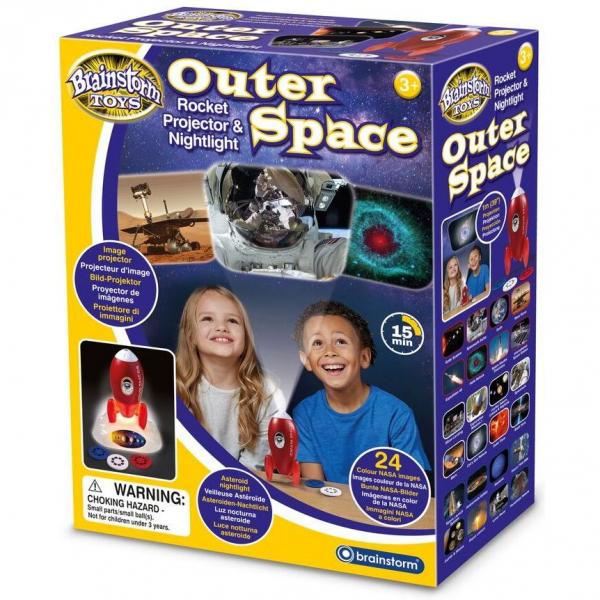 Proiector si Lampa de Veghe Outer Space Brainstorm Toys E2063 0