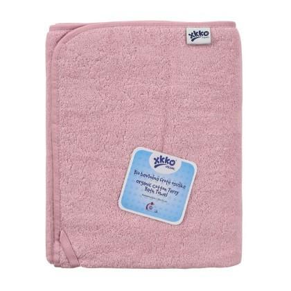 Prosop bumbac organic Pink 75x150cm XKKO 0