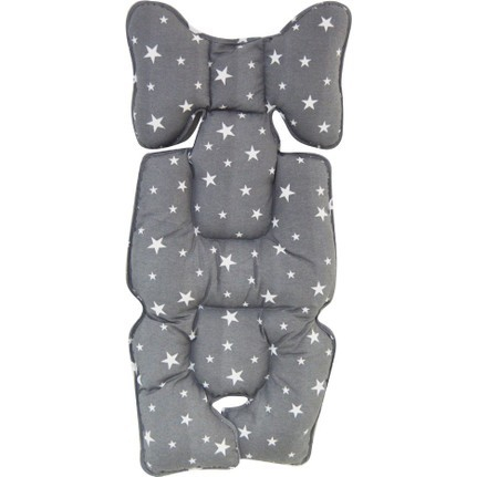 Protectie textila pt carucior/scaun Grey Stars 0
