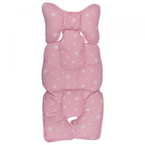 Protectie textila pt carucior/scaun Pink Stars 0