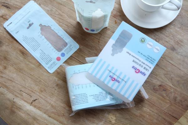 Pungi stocare lapte matern cu fermoar (30 buc.) 1