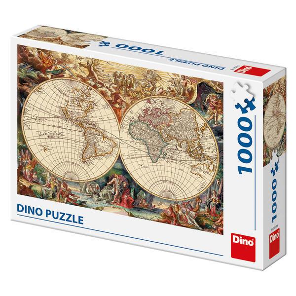 Puzzle - Harta istorica (1000 piese) 0