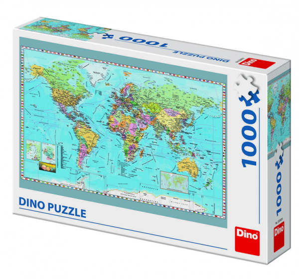 Puzzle - Harta politica a lumii (1000 piese) 0