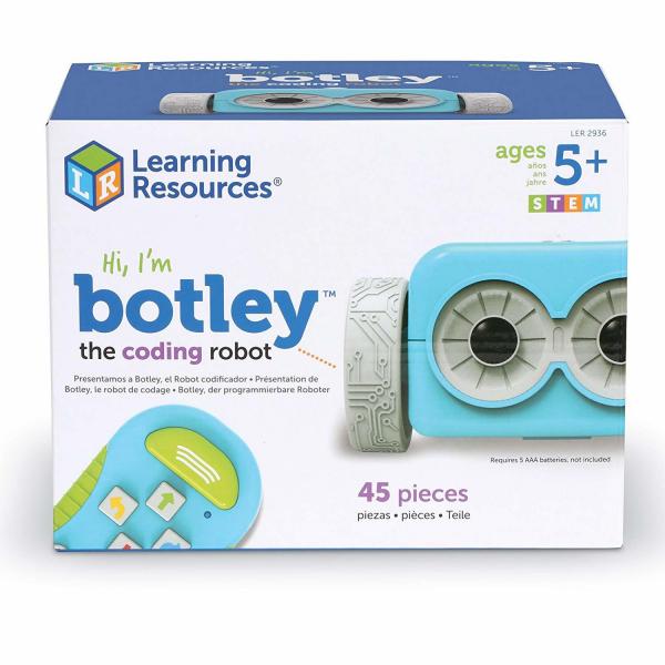 Robotelul Botley in cursa 0